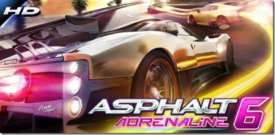 Asphalt 6 Adrenaline HD