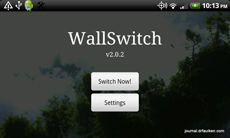 WallSwitch для Android