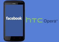 facebook HTC Opera UL