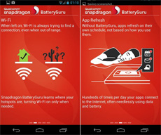 Snapdragon BatteryGuru для Android