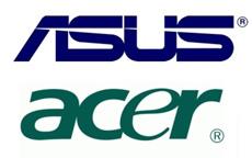 ASUS и Acer