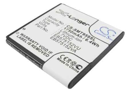 Купить Аккумулятор Samsung Galaxy S i9000, i9003 1750mah CS