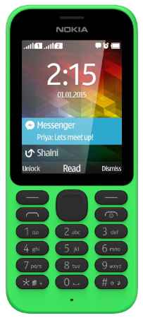Купить Nokia 215 DS Green