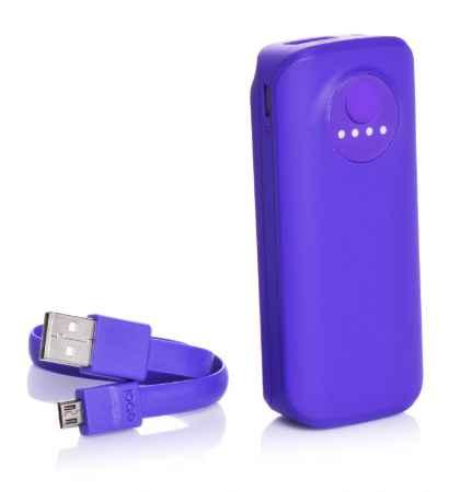 Купить Дополнительная батарея Ebai Mobile power for iPhone 5000mAh (Indigo)