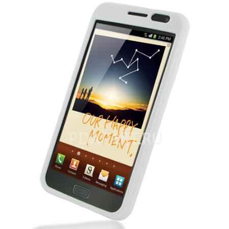 Купить Чехол Samsung Galaxy Note PDair Luxury белый