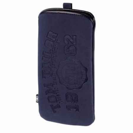 Купить Чехол Hama Tom Tailor Soft Pouch универсальный велюр синий 00122613
