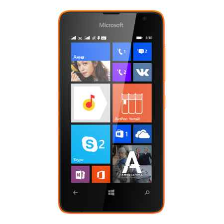 Купить Microsoft Lumia 430 Bright Orange