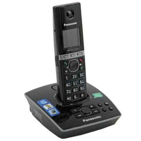 Купить Радиотелефон DECT Panasonic KX-TG8061RUB черный
