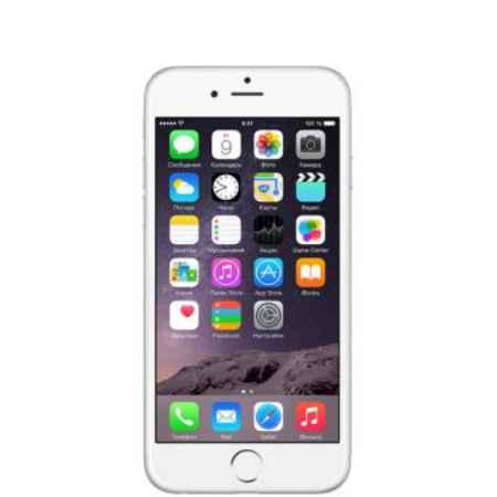 "Купить Смартфон Apple iPhone 6 4.7"" 16Gb Silver серебристый MG482RU/A"