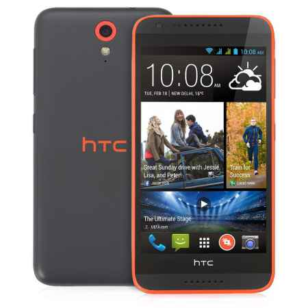 Купить Смартфон HTC Desire 620G dual sim matt gray/orange