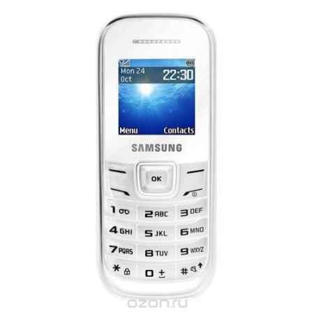 Купить Samsung GT-E1200, White