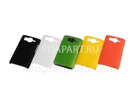 Купить Чехол HTC Desire HD Rubberized Back Hard Case черный