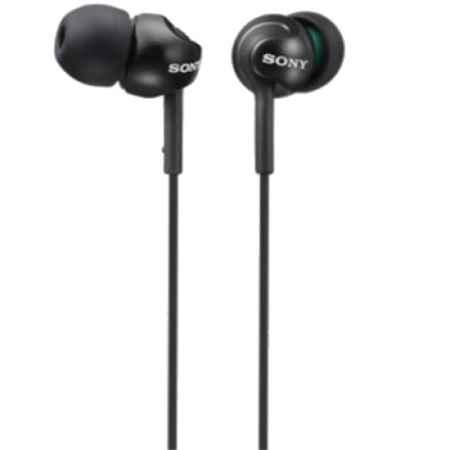 Купить Sony MDR-EX110LP Black