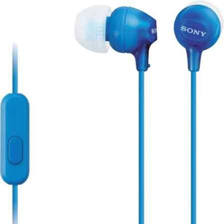 Купить Sony MDR-EX15AP Blue