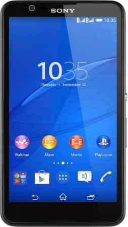 Купить Sony Xperia E4 Dual (черный)