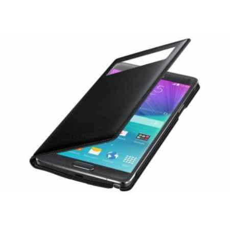 Купить Чехол-книжка Samsung EF-EN910FKEGRU для Samsung Galaxy Note 4 S View Wallet черный