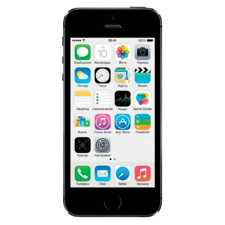 Купить Apple iPhone 5S 32Gb Space Gray (ME435RU/A)