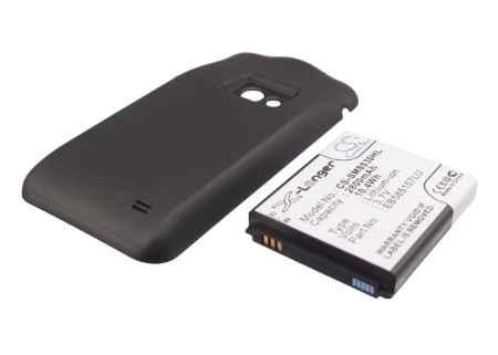 Купить Аккумулятор Samsung Galaxy Beam 2800mah усиленный черный