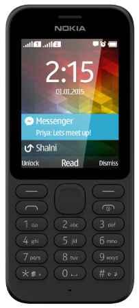 Купить Мобильный телефон Nokia 215 Dual Sim (A00023561) Black