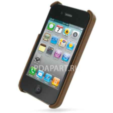 Купить Чехол PDair для Apple iPhone 4 задняя крышка коричневый