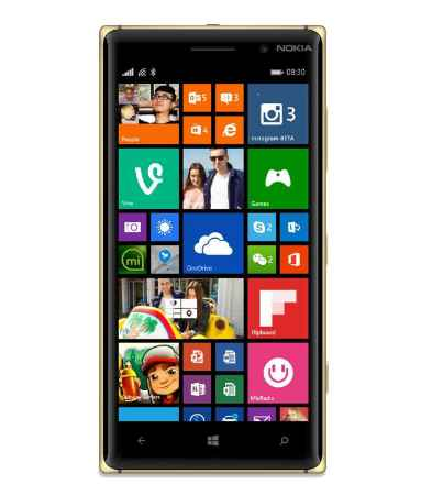 Купить Nokia 930 Lumia black-gold
