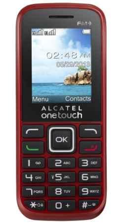 Купить Телефон Alcatel One Touch 1040D (Красный)