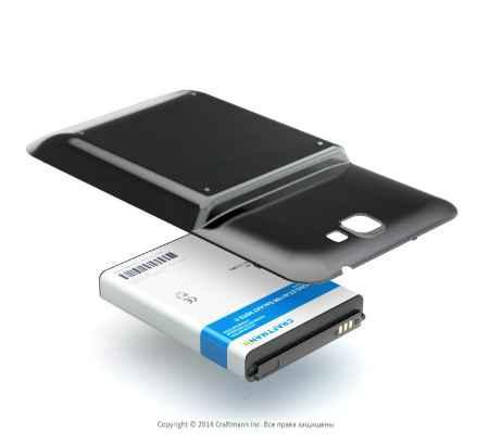 Купить Аккумулятор Samsung Galaxy Note 2 N7100 6200mah Craftmann черный