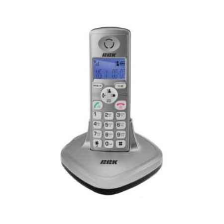 Купить Радиотелефон DECT BBK BKD-814 RU серебристый