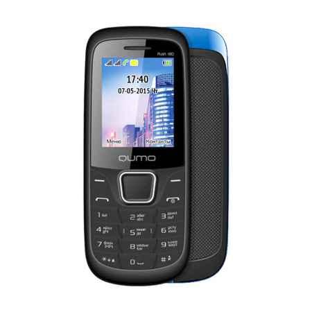 Купить Мобильный телефон Qumo Push 180 dual blue, синий