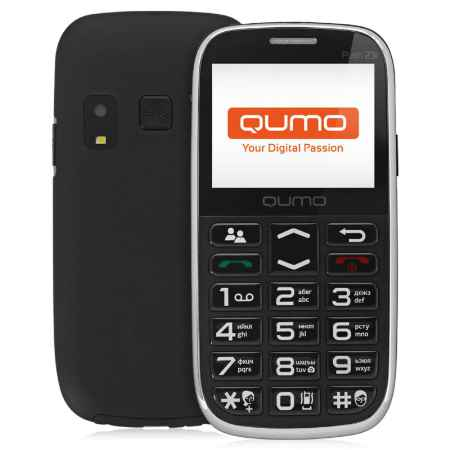 Купить Мобильный телефон Qumo Push 231 black