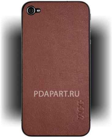 Купить Чехол Защитный ZAGG LeatherSkins Apple iPhone 4 Tan Plain