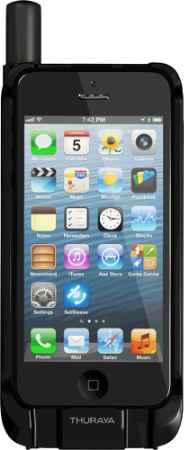 Купить Thuraya SatSleeve для iPhone 5/5S + 100 минут (черный)