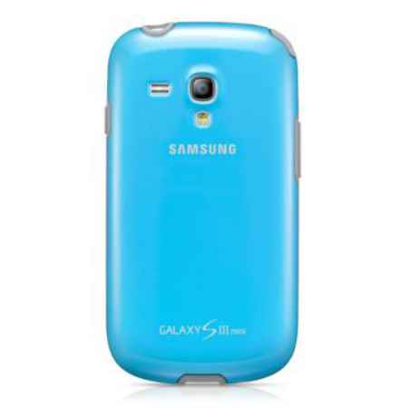 Купить Чехол Samsung для Galaxy S 3 Mini GT-I8190 голубой EFC-1M7BLE