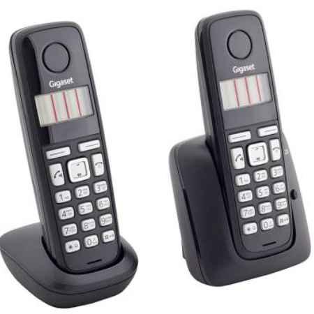 Купить Радиотелефон DECT Gigaset A220 DUO черный