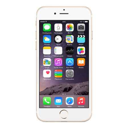 Купить Apple iPhone 6 64GB Gold (MG4J2RU/A)