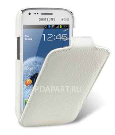 Купить Чехол Samsung Galaxy S Duos S7562 - Melkco Jacka Type белый