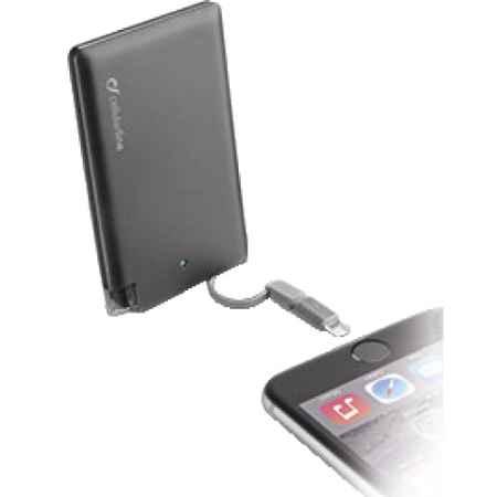 Купить Cellular Line FREEP2500MFI2/1K Black