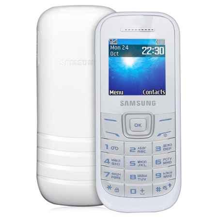 Купить Мобильный телефон Samsung GT-E1200 whitе