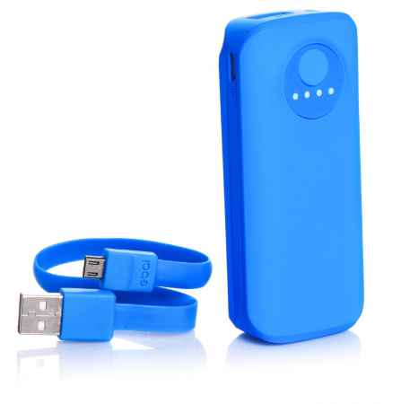 Купить Дополнительная батарея Ebai Mobile power for iPhone 5000mAh (Blue)