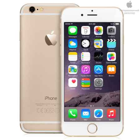 Купить Смартфон Apple iPhone 6 64Gb Gold, MG4J2RU/A