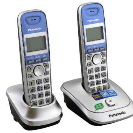 Купить Радиотелефон DECT Panasonic KX-TG2512RUS серебристый