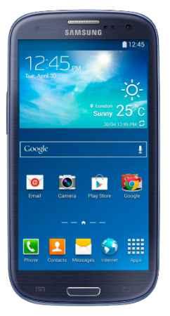 Купить Телефон Samsung Galaxy S3 Neo GT-I9301I (Синий)