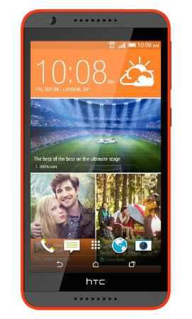Купить Телефон HTC Desire 820 (Серо-Оранжевый)