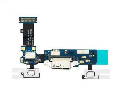 Купить Шлейф Samsung Galaxy S5 SM-G900 с системным разъемом, микрофоном