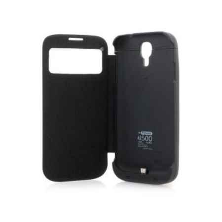 Купить Чехол с аккумулятором Gmini mPower Case MPCS45F Black для Galaxy S4 4500mAh Flip cover