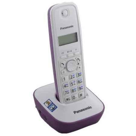 Купить Радиотелефон DECT Panasonic KX-TG1611RUF фиолетовый