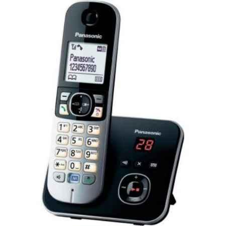 Купить Радиотелефон DECT Panasonic KX-TG6821RUB черный