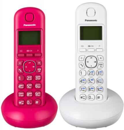 Купить Panasonic KX-TGB212 (белый, розовый)