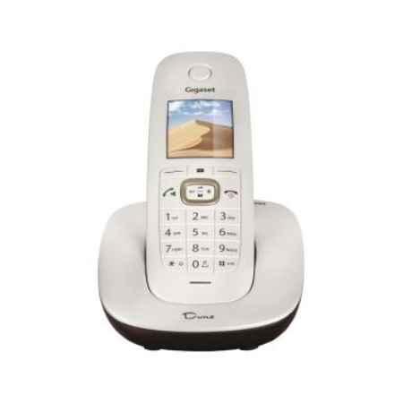 Купить Радиотелефон DECT Gigaset CL540 Dune белый