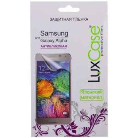 Купить Плёнка защитная антибликовая LuxCase для Samsung Galaxy Alpha